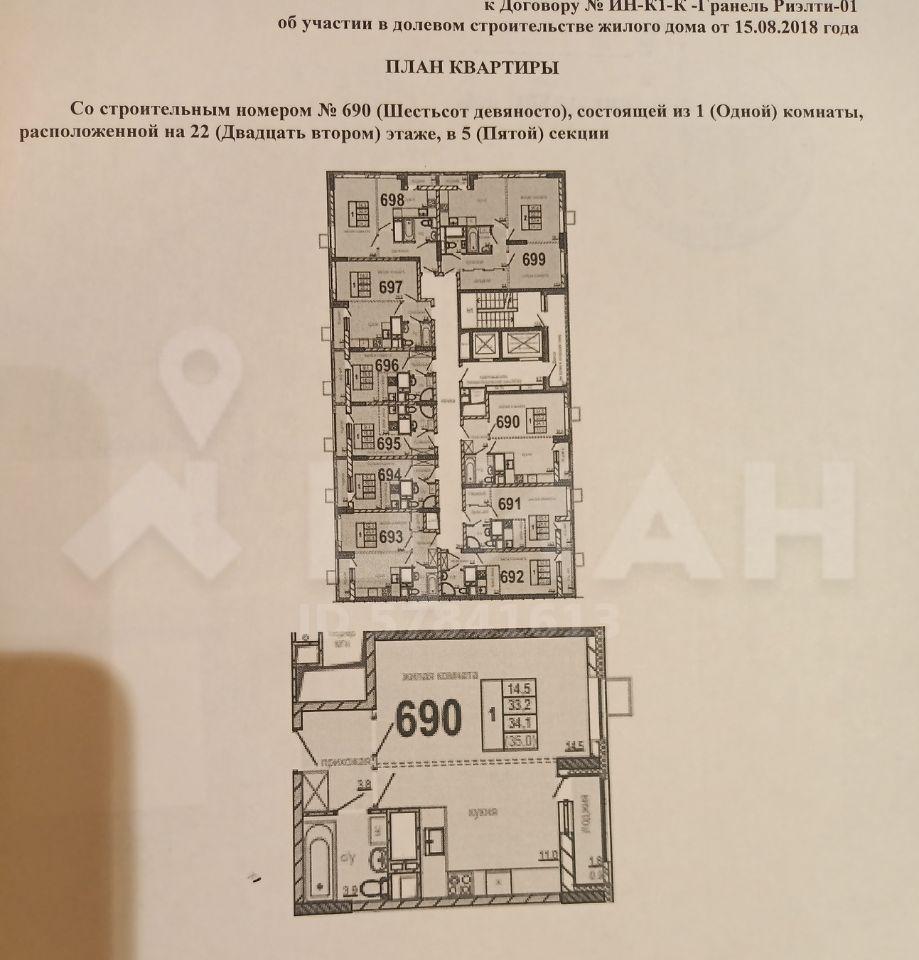 Продажа однокомнатной квартиры рабочий поселок Новоивановское, цена 6000000 рублей, 2021 год объявление №492821 на megabaz.ru
