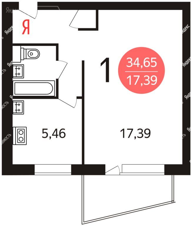 Продажа однокомнатной квартиры Москва, метро Перово, 3-я Владимирская улица 12к1, цена 7000000 рублей, 2020 год объявление №442736 на megabaz.ru