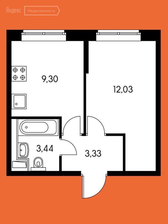 Продажа однокомнатной квартиры поселок Ильинское-Усово, Заповедная улица 1, цена 3590000 рублей, 2020 год объявление №446033 на megabaz.ru