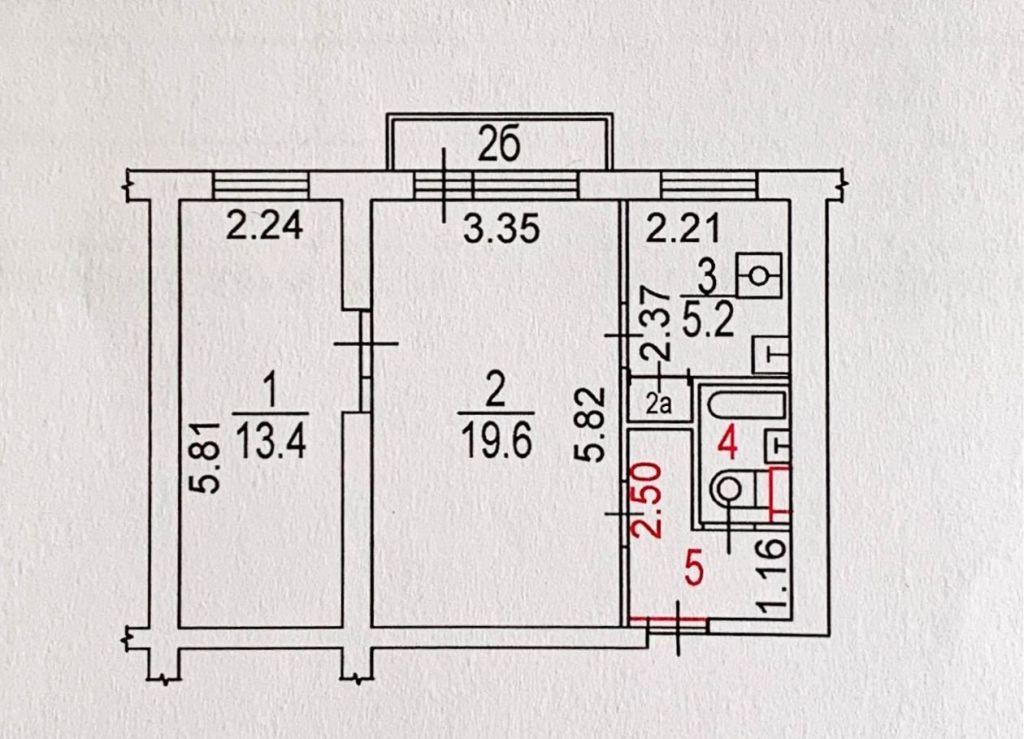 Продажа двухкомнатной квартиры Москва, метро Свиблово, Енисейская улица 6, цена 8600000 рублей, 2020 год объявление №430818 на megabaz.ru