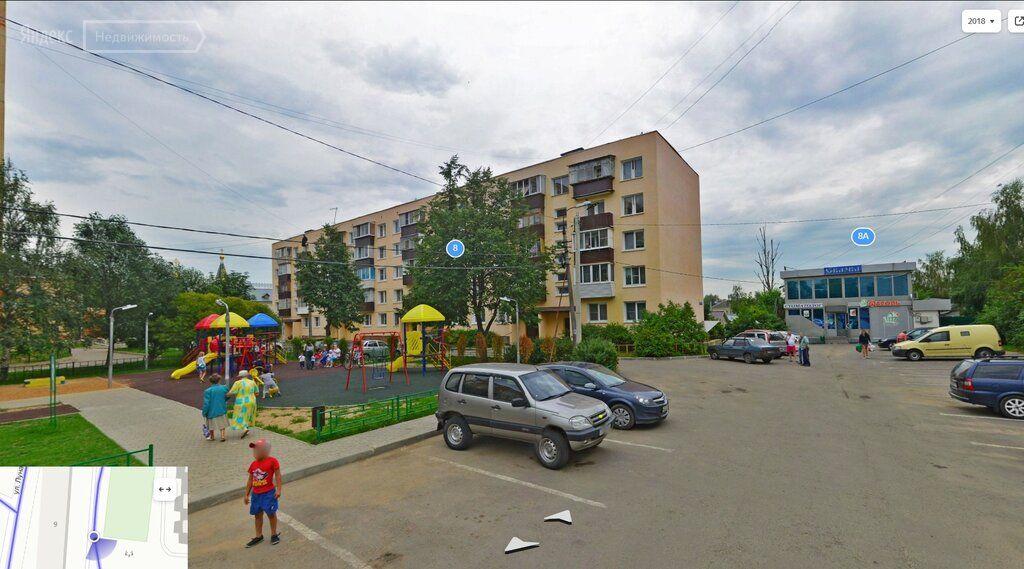 Продажа двухкомнатной квартиры село Павловская Слобода, улица Луначарского 9, цена 4700000 рублей, 2021 год объявление №427141 на megabaz.ru