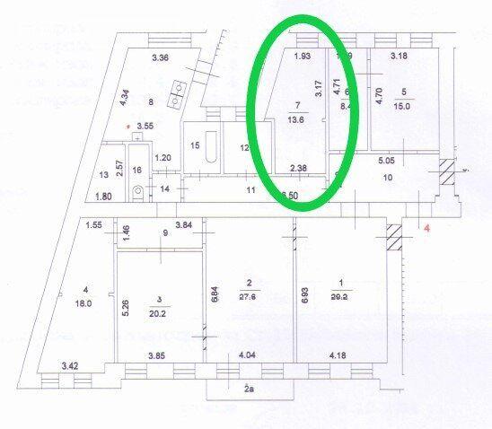Продажа комнаты Москва, метро Арбатская, улица Арбат 29, цена 8200000 рублей, 2020 год объявление №491338 на megabaz.ru
