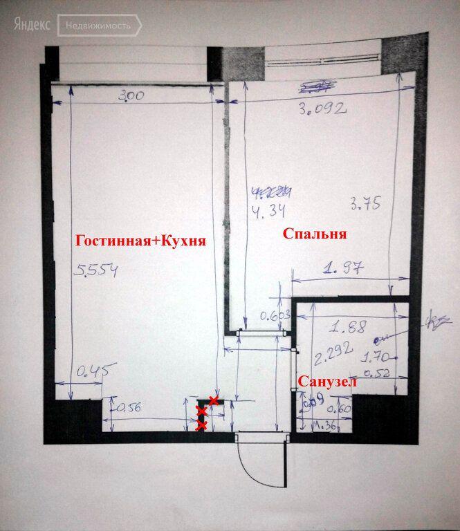 Продажа однокомнатной квартиры деревня Рузино, метро Митино, цена 4150000 рублей, 2020 год объявление №429457 на megabaz.ru