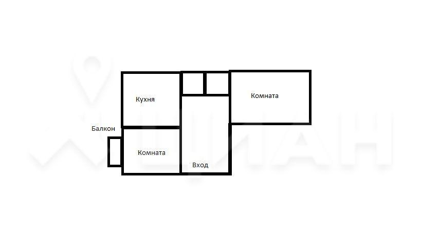 Продажа двухкомнатной квартиры рабочий посёлок Калининец, цена 4300000 рублей, 2020 год объявление №487354 на megabaz.ru