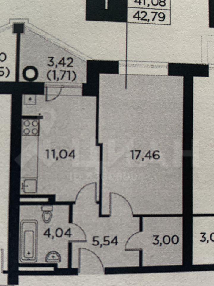 Продажа однокомнатной квартиры деревня Лобаново, Новая улица 5, цена 3525000 рублей, 2020 год объявление №430294 на megabaz.ru