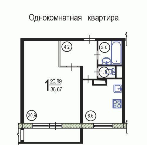 Продажа однокомнатной квартиры Москва, метро Волоколамская, Пятницкое шоссе 9к1, цена 7500000 рублей, 2021 год объявление №467352 на megabaz.ru