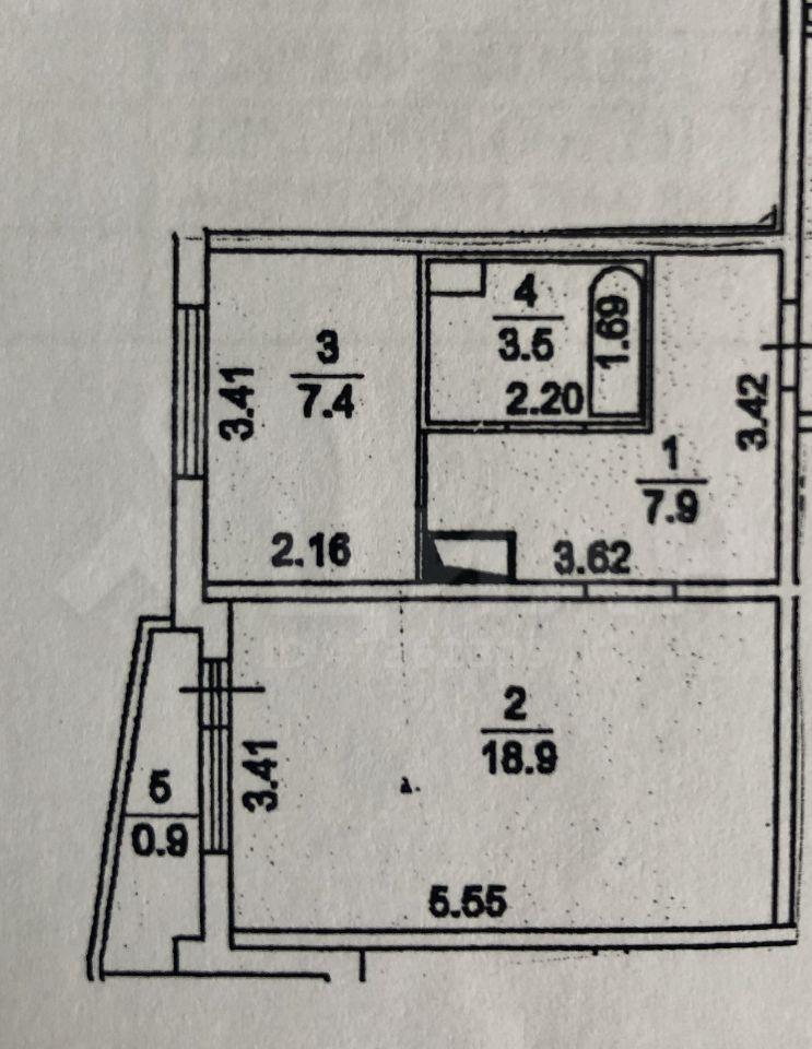 Продажа однокомнатной квартиры деревня Брёхово, метро Пятницкое шоссе, цена 3980000 рублей, 2020 год объявление №431785 на megabaz.ru