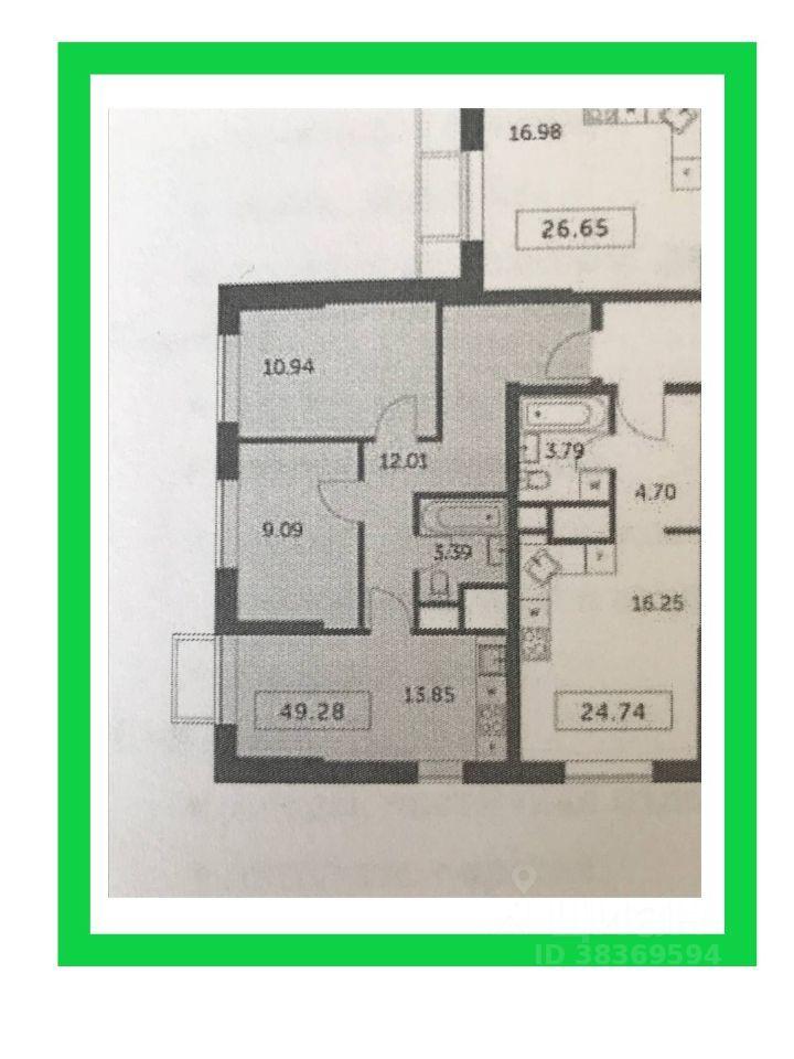 Продажа двухкомнатной квартиры деревня Раздоры, метро Строгино, улица Липовой Рощи 2к1, цена 8800000 рублей, 2021 год объявление №630792 на megabaz.ru