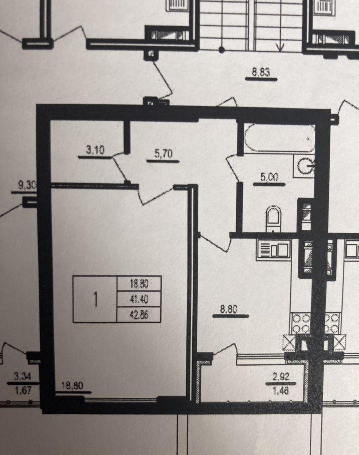 Продажа однокомнатной квартиры деревня Чёрная, Тенистая улица 8, цена 4450000 рублей, 2021 год объявление №526438 на megabaz.ru