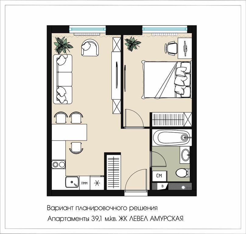Продажа однокомнатной квартиры Москва, метро Черкизовская, Амурская улица 1Ак2, цена 7300000 рублей, 2021 год объявление №434784 на megabaz.ru