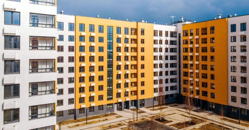 Продажа двухкомнатной квартиры поселок Ильинское-Усово, Архангельская улица, цена 6733160 рублей, 2020 год объявление №448966 на megabaz.ru
