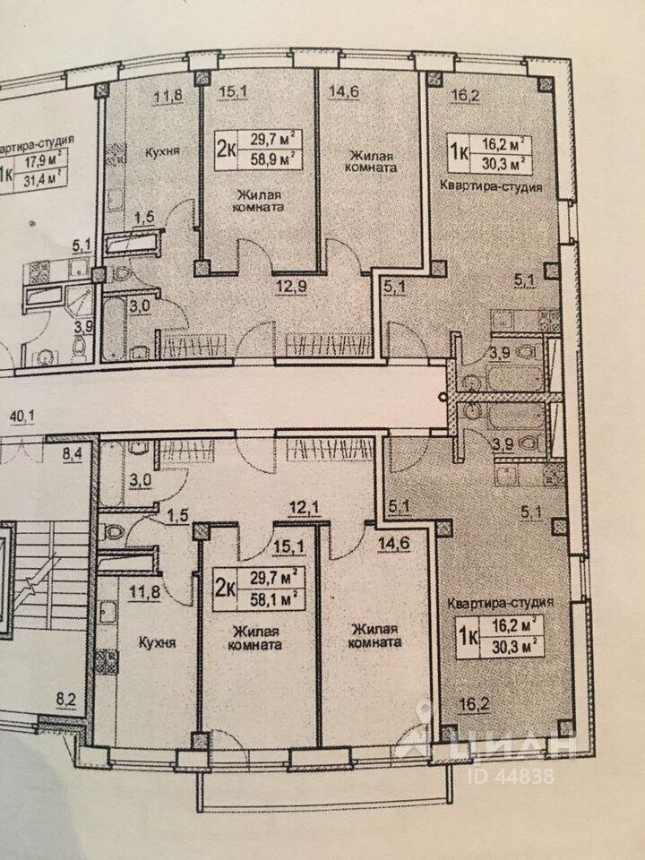 Продажа двухкомнатной квартиры деревня Большие Жеребцы, цена 2400000 рублей, 2021 год объявление №356744 на megabaz.ru