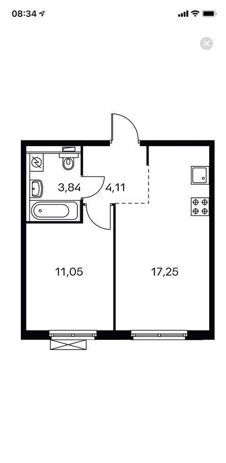 Продажа двухкомнатной квартиры Москва, метро Савеловская, цена 10200000 рублей, 2021 год объявление №356612 на megabaz.ru