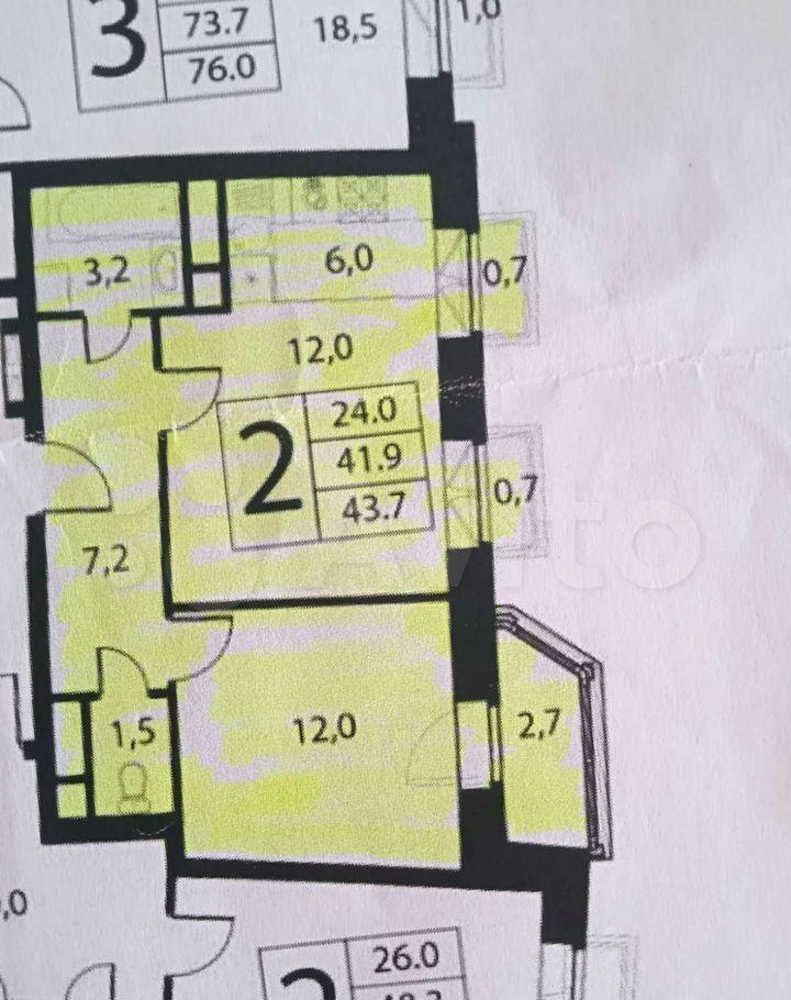 Продажа двухкомнатной квартиры село Николо-Урюпино, цена 4800000 рублей, 2021 год объявление №663428 на megabaz.ru