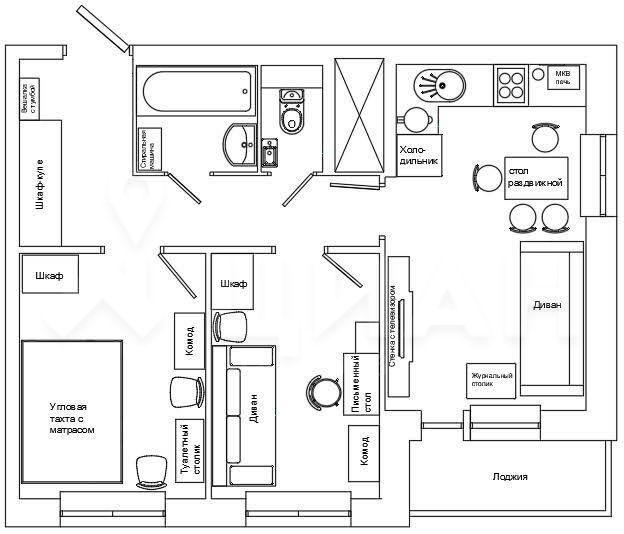 Продажа двухкомнатной квартиры деревня Путилково, Сходненская улица 13, цена 5300000 рублей, 2020 год объявление №445689 на megabaz.ru