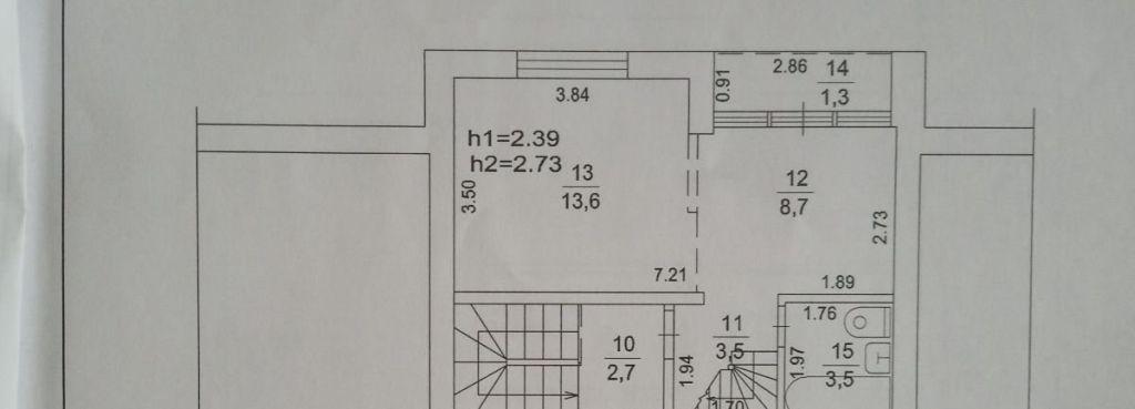 Продажа двухкомнатной квартиры село Тарасовка, улица Радио, цена 2200000 рублей, 2021 год объявление №423450 на megabaz.ru