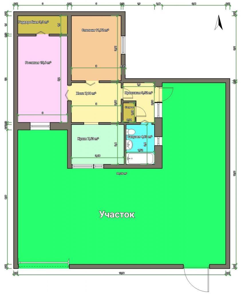 Продажа дома посёлок городского типа Родники, улица Калинина 34, цена 2850000 рублей, 2021 год объявление №357239 на megabaz.ru