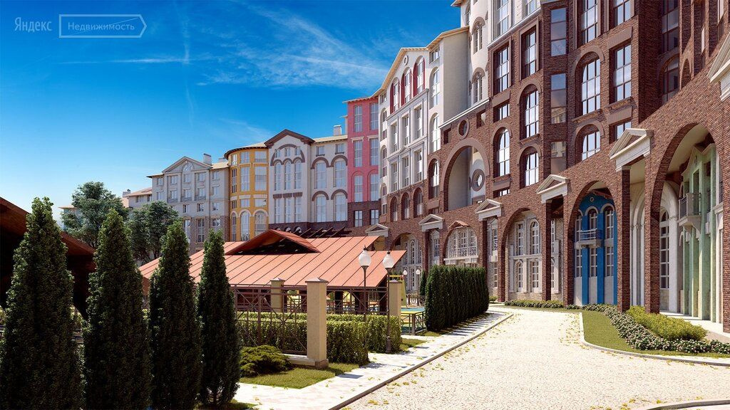 Продажа однокомнатной квартиры поселок Развилка, метро Домодедовская, Римский проезд 1, цена 5550000 рублей, 2021 год объявление №466323 на megabaz.ru