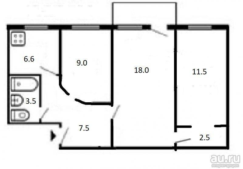 Продажа трёхкомнатной квартиры Москва, метро Аэропорт, улица Асеева 8, цена 18000000 рублей, 2021 год объявление №656582 на megabaz.ru