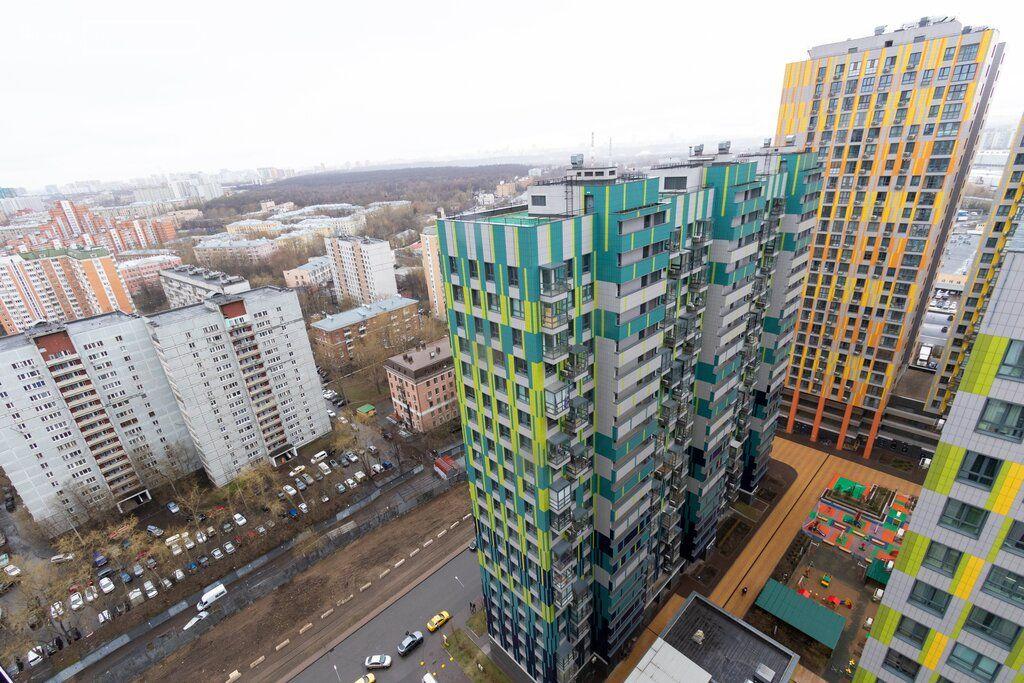 Продажа однокомнатной квартиры Москва, метро Фили, Береговой проезд 5Ак1, цена 12500000 рублей, 2021 год объявление №501621 на megabaz.ru