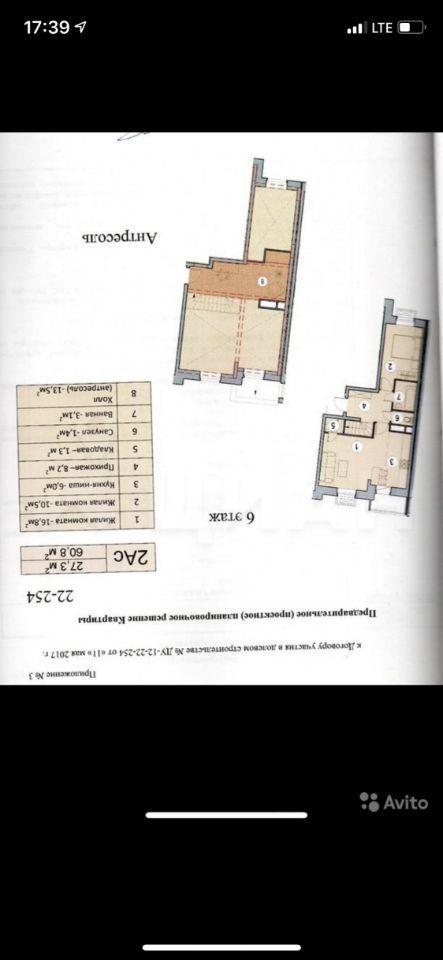 Продажа трёхкомнатной квартиры село Лайково, цена 4800000 рублей, 2020 год объявление №438680 на megabaz.ru