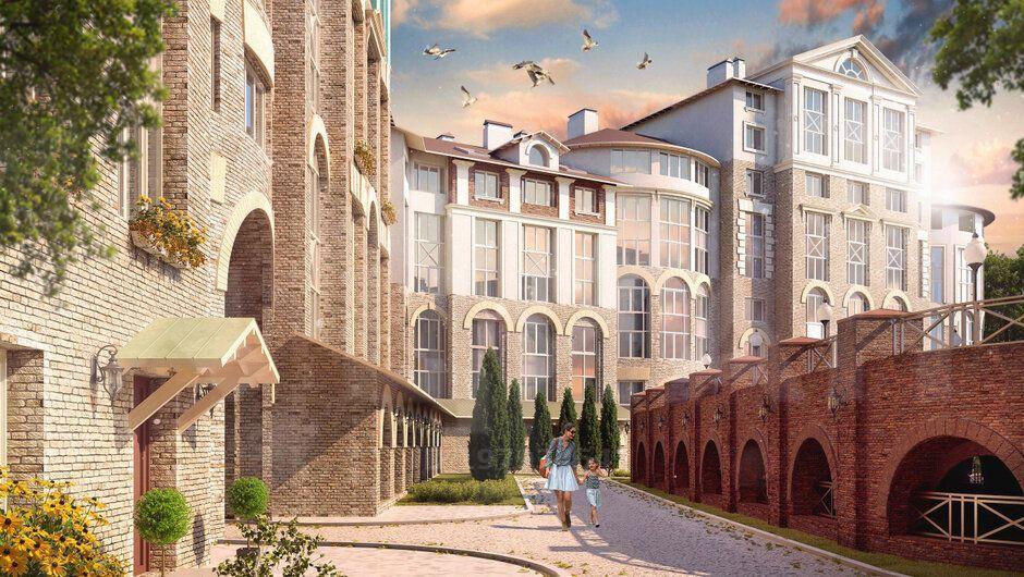 Продажа двухкомнатной квартиры поселок Развилка, метро Домодедовская, Римский проезд 1, цена 7000000 рублей, 2021 год объявление №495395 на megabaz.ru