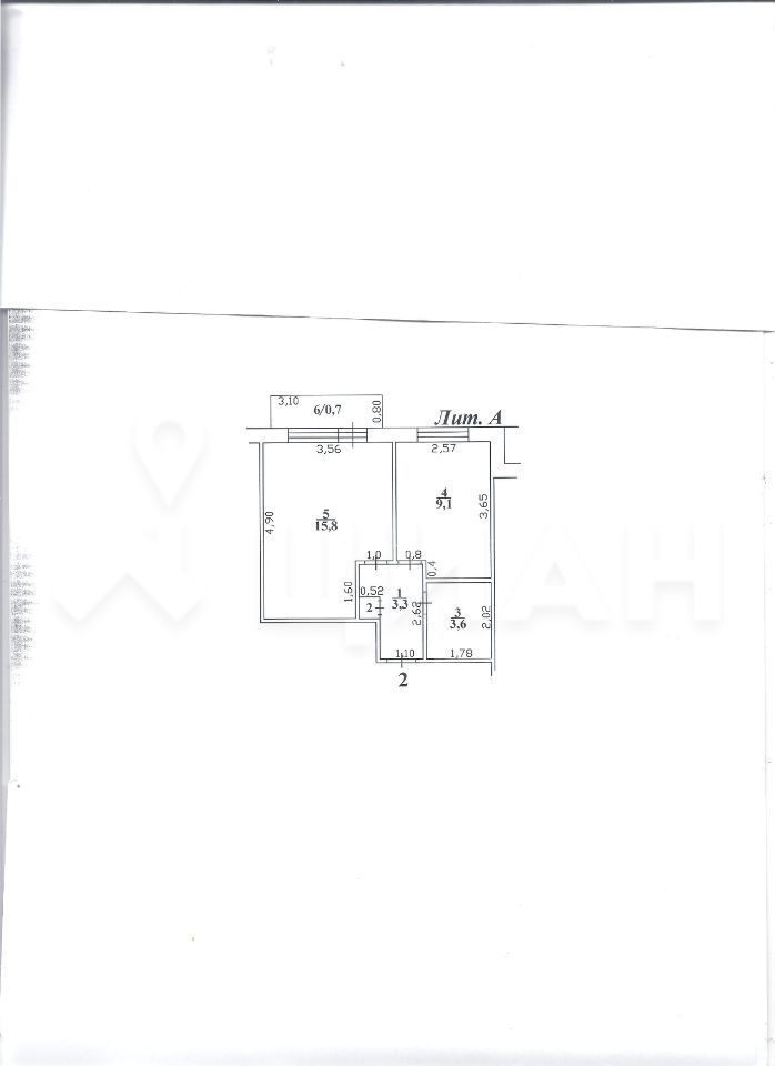 Продажа однокомнатной квартиры село Узуново, цена 800000 рублей, 2020 год объявление №469168 на megabaz.ru