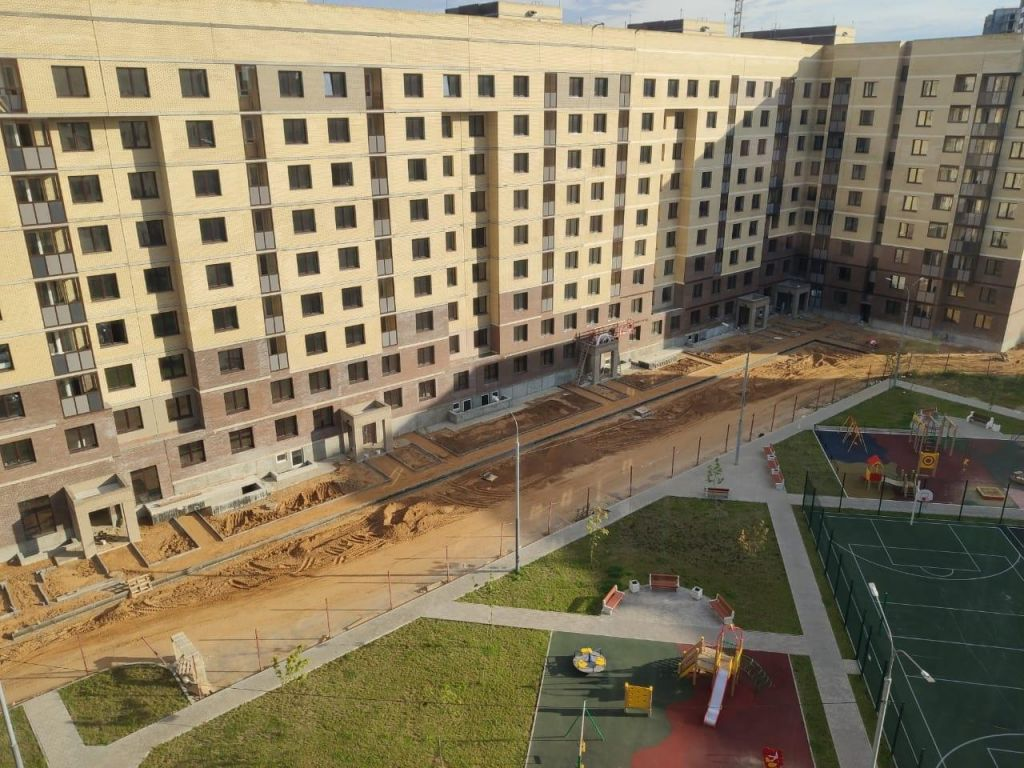 Продажа однокомнатной квартиры поселок Мебельной фабрики, Рассветная улица 1, цена 2750000 рублей, 2021 год объявление №430047 на megabaz.ru