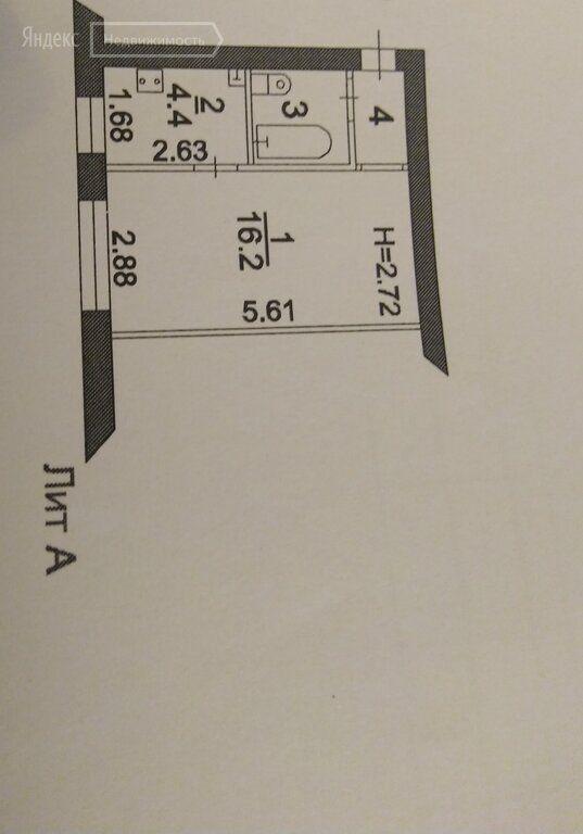 Продажа однокомнатной квартиры поселок Реммаш, Спортивная улица 13, цена 1300000 рублей, 2020 год объявление №491700 на megabaz.ru