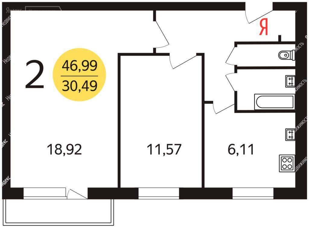 Продажа двухкомнатной квартиры Москва, метро Авиамоторная, Душинская улица 18к1, цена 10500000 рублей, 2020 год объявление №439481 на megabaz.ru