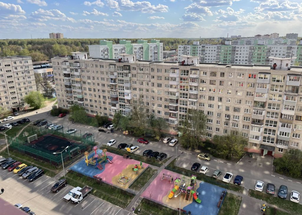 Продажа однокомнатной квартиры Ногинск, Комсомольская улица 22А, цена 4500000 рублей, 2021 год объявление №618999 на megabaz.ru