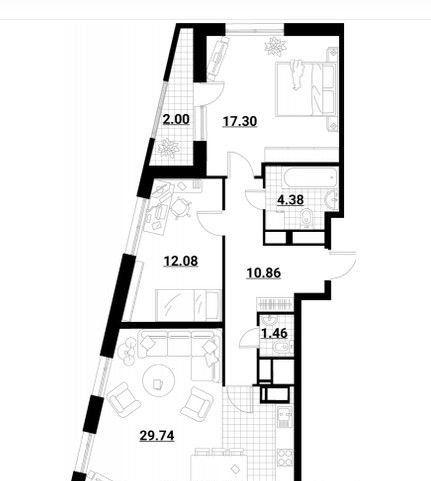 Продажа двухкомнатной квартиры Москва, метро Медведково, Тайнинская улица 11к1с1, цена 14600000 рублей, 2020 год объявление №446647 на megabaz.ru