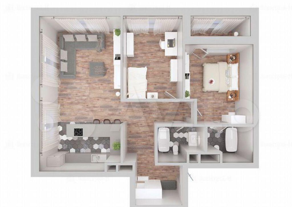 Продажа двухкомнатной квартиры Москва, метро Алексеевская, цена 23500000 рублей, 2021 год объявление №667010 на megabaz.ru