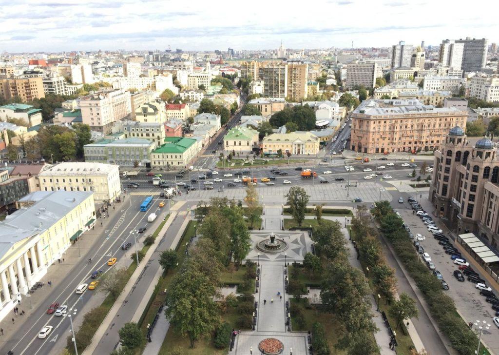 Продажа трёхкомнатной квартиры Москва, метро Баррикадная, Кудринская площадь 1, цена 55000000 рублей, 2021 год объявление №360096 на megabaz.ru