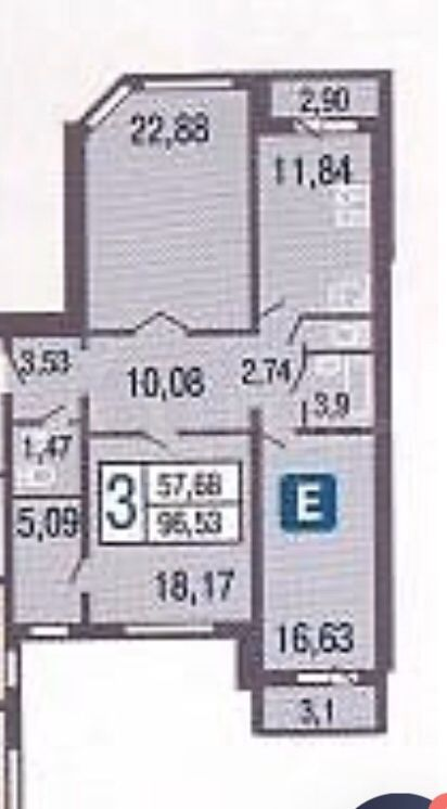 Продажа трёхкомнатной квартиры Москва, метро Сокол, улица Усиевича 29к1, цена 23000000 рублей, 2020 год объявление №415979 на megabaz.ru