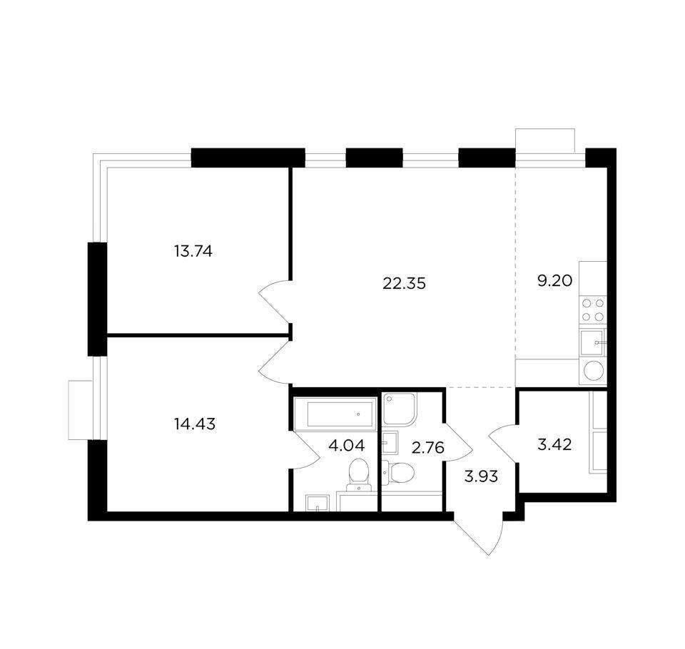 Продажа трёхкомнатной квартиры Москва, метро Нагорная, Электролитный проезд 7Ас3, цена 18628093 рублей, 2020 год объявление №442164 на megabaz.ru