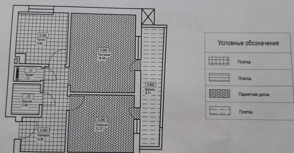 Продажа двухкомнатной квартиры поселок Отрадное, метро Пятницкое шоссе, Пятницкая улица 8, цена 11850000 рублей, 2020 год объявление №495366 на megabaz.ru