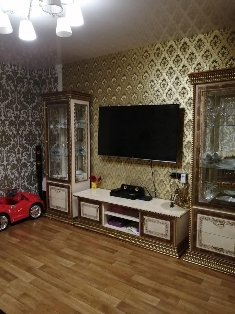 Продажа трёхкомнатной квартиры село Домодедово, бульвар Строителей 2, цена 6900000 рублей, 2020 год объявление №443546 на megabaz.ru