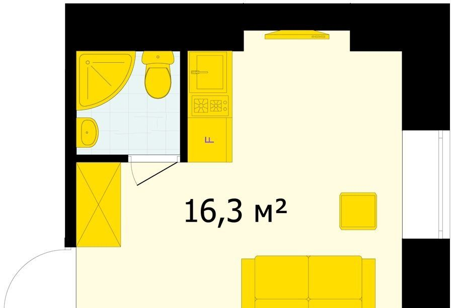 Продажа студии Москва, метро Лубянка, улица Маросейка 13с3, цена 6089998 рублей, 2020 год объявление №444290 на megabaz.ru