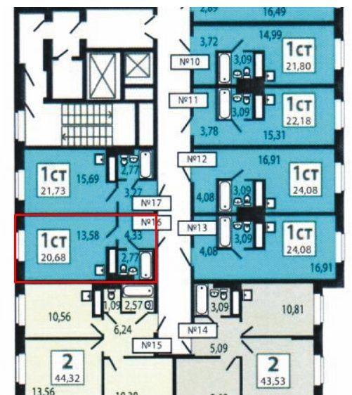 Продажа студии деревня Путилково, Сходненская улица 13, цена 3100000 рублей, 2020 год объявление №445478 на megabaz.ru