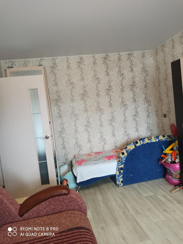 Продажа однокомнатной квартиры село Орудьево, Фабричная улица 22, цена 2000000 рублей, 2021 год объявление №476509 на megabaz.ru