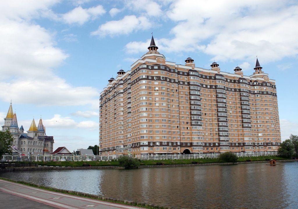 Аренда трёхкомнатной квартиры поселок совхоза имени Ленина, цена 68000 рублей, 2020 год объявление №1126124 на megabaz.ru