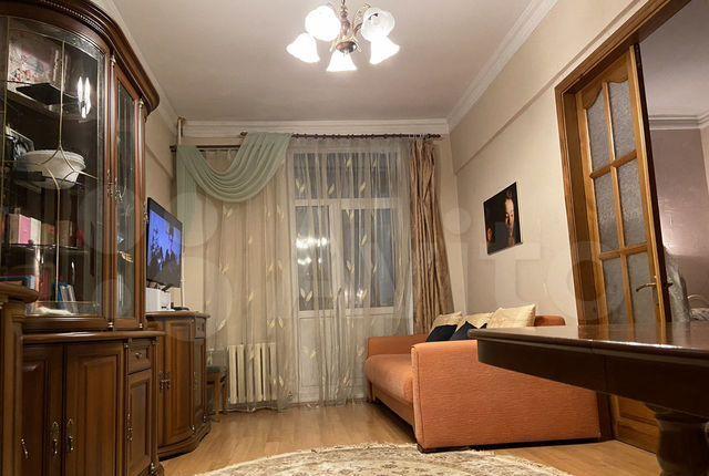 Аренда трёхкомнатной квартиры Балашиха, проспект Ленина 15/7, цена 40000 рублей, 2021 год объявление №1339037 на megabaz.ru