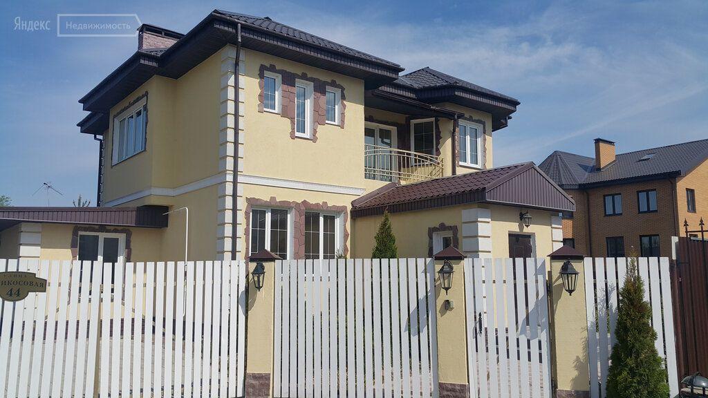 Продажа дома деревня Заболотье, Абрикосовая улица 44, цена 10400000 рублей, 2021 год объявление №446496 на megabaz.ru