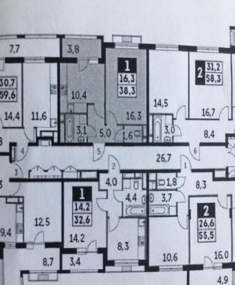 Продажа однокомнатной квартиры поселок Развилка, метро Красногвардейская, цена 5800000 рублей, 2020 год объявление №451562 на megabaz.ru