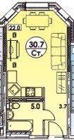 Аренда студии Ивантеевка, Студенческий проезд 3, цена 23000 рублей, 2020 год объявление №1128846 на megabaz.ru