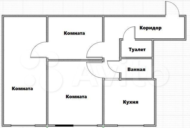 Продажа трёхкомнатной квартиры Москва, метро Кузьминки, Волжский бульвар 39к4, цена 9400000 рублей, 2021 год объявление №546119 на megabaz.ru