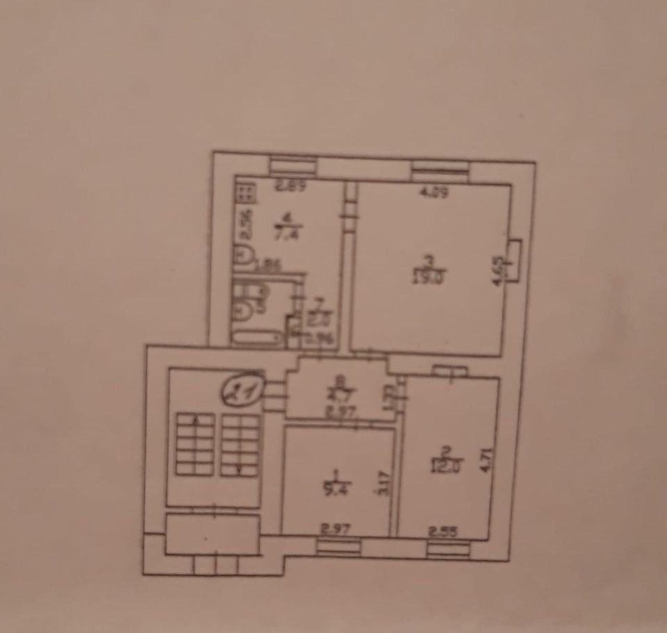 Продажа комнаты Долгопрудный, Институтский переулок 8, цена 3300000 рублей, 2020 год объявление №449135 на megabaz.ru
