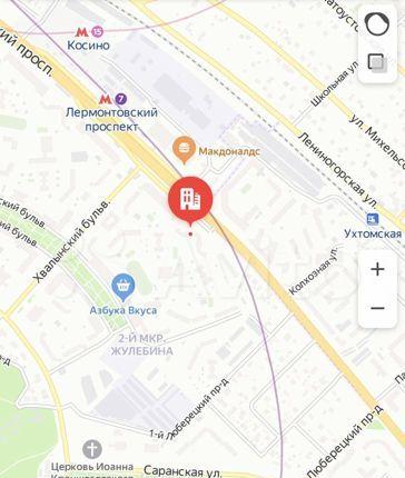Продажа студии Москва, метро Лермонтовский проспект, Лермонтовский проспект 14к1, цена 3150000 рублей, 2021 год объявление №531353 на megabaz.ru