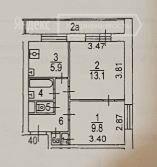 Продажа двухкомнатной квартиры Москва, метро Свиблово, Уржумская улица 5к1, цена 8100000 рублей, 2021 год объявление №460308 на megabaz.ru